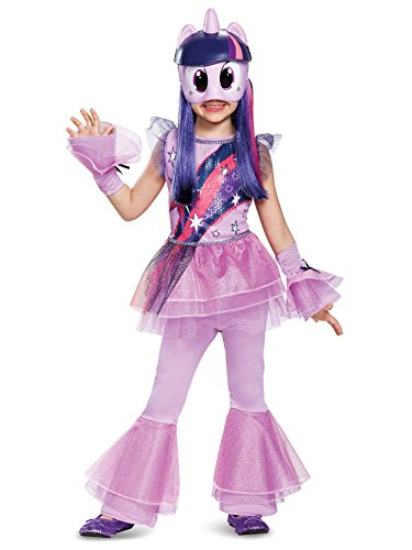 Twilight Sparkle Movie Deluxe Costume, Purple, Medium (7-8) -