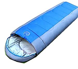 Thick Warm Cotton Sleeping Bags Outdoor Camping Adult Sleeping Bags,Blue
