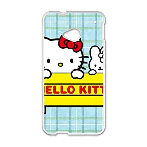 RHGGB Hello kitty Phone Case for HTC One M7 case