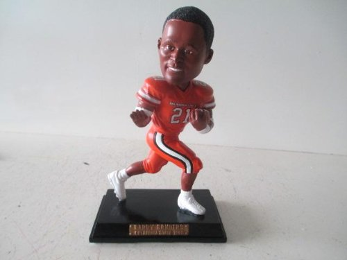 Barry Sanders Oklahoma State Cowboys &quotTrophy Pose&quot COLLEGE LEGENDS FIGURE #7 Bobble Head Doll #/200 Exclusive to Carroll's Sports Cove