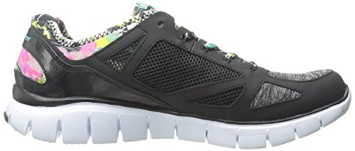 Skechers (SKEES) Damen Flex Appeal-Obvious Choice Funktionsschuh, Schwarz (Bklb), 40 EU