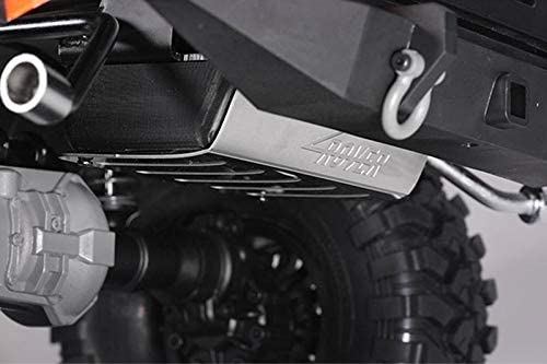 R//C Scale Accessories 1Pc Black Metallic Fuel Tank Exhaust Pipe for TRX-4 Trail Defender Crawler