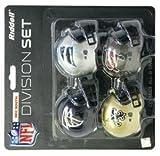 Riddell NFC South Division (4-pc.) Pocket Pro NFL Helmet Set