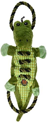 Tuff Tug - Charming 61128 Ropes-A-Go Go-Gator Squeak Toys