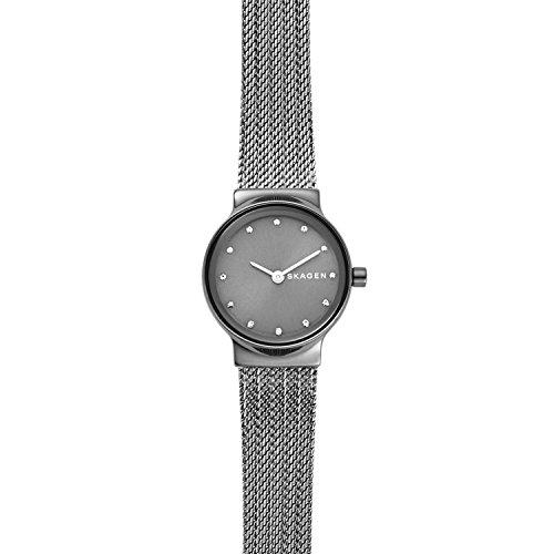 Skagen Women's Freja Dark Gray Steel-Mesh Watch - SKW2700
