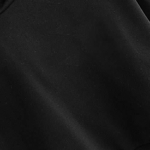 Bats Manches Tops Shirt Longues Capuche Sweat Chemise Femmes Pull Manches Pull Longues Noir Imprimer Halloween Chic Tops Sweat Femme Party txtaP