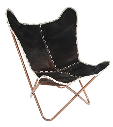 Butterfly Leather Chair, 26.5
