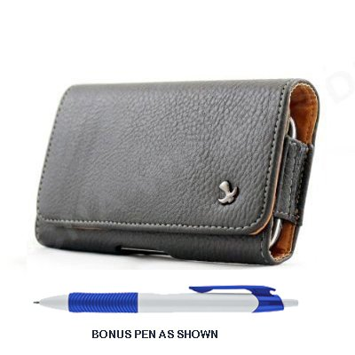 pebble-texture-leather-design-horizontal-belt-clip-magnetic-closing-flap-holster-pouch-case-for-ipho