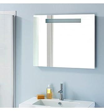 Sanijura - Miroir salle de bain rétro-éclairage Led Reflet sens 60 ...