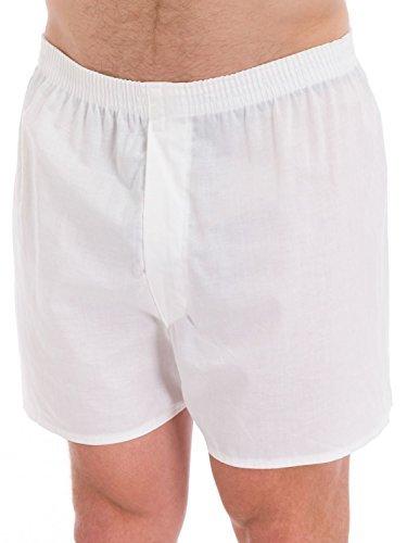 Fruit of the Loom Men's 5Pack White Boxer Shorts Boxers Underwear 3XL Mens White Boxer Shorts