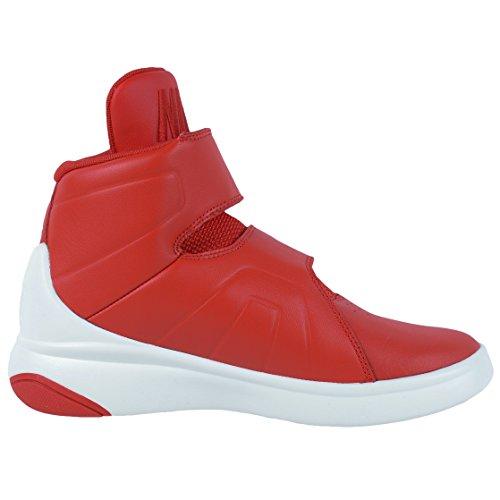 Nike Red/Unvrsty Rd-SL-Blk, Zapatillas de Baloncesto Para Niños Rojo (Unvrsty Red / Unvrsty Rd-Sl-Blk)