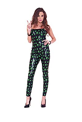Music Legs Women's Marijuana Jumpsuit