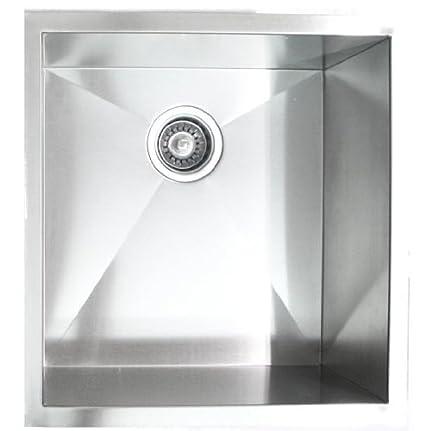 20 Kitchen Sink 19 x 20 single bowl undermount kitchen sink amazon 19quot x 20quot single bowl undermount kitchen sink workwithnaturefo