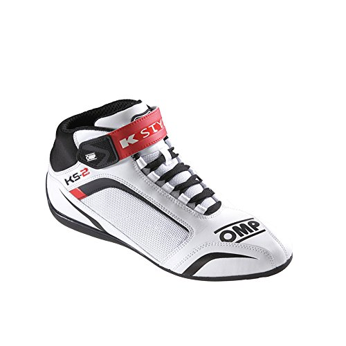 bianco 81212043 bianco Ompic taglia 43 2 nero rosso Omp rosso ks F1nna