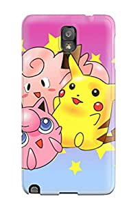 Durable Defender Case For Galaxy Note 3 Tpu Cover(pokemon)