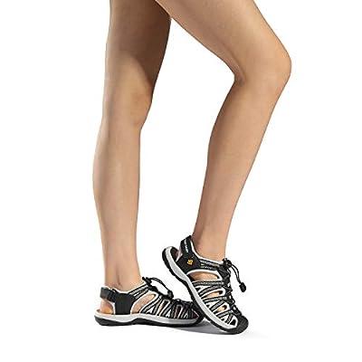 DREAM PAIRS Women's 160912-W Adventurous Summer Outdoor Sandals | Sport Sandals & Slides