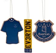 Everton FC Air Fresheners (Pack Of 3)