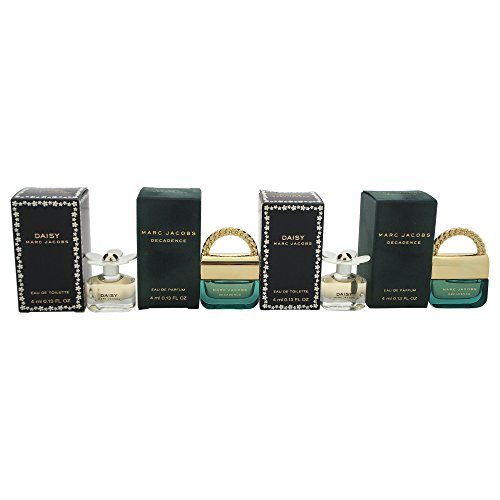 Marc Jacobs Daisy Decadence Mini Variety Set for Women, Gift Set