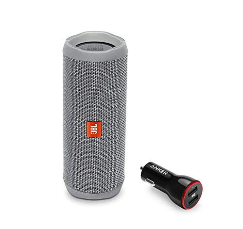 JBL Flip 4 Portable Bluetooth Wireless Speaker Bundle with A