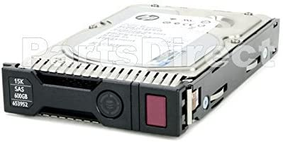 HP 653952-001 Certified Refurbished HP 600GB 6G SAS 15K 3.5in SC ENT HDD