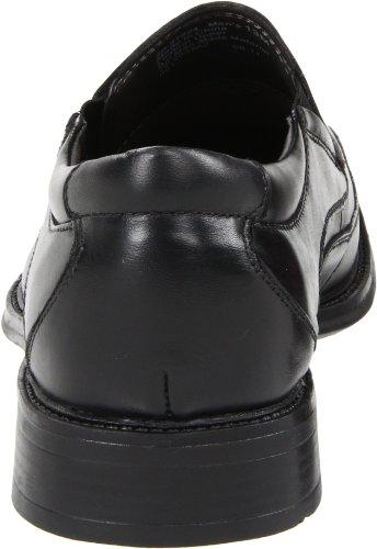 Dockers Franchise Hommes Noir Cuir Chaussures Mocassins Pointure