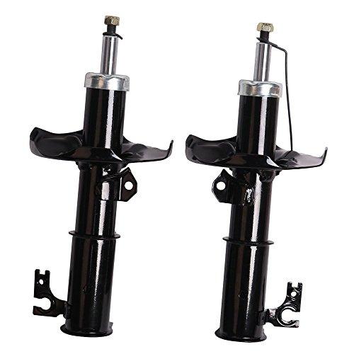 Front Shock Struts for Mazda Protege 1999-2003/Mazda Protege 5 2002-2003 Shock Absorber (Pack Of 2) 333350 333351 71424 (Mazda Protege Front Strut)