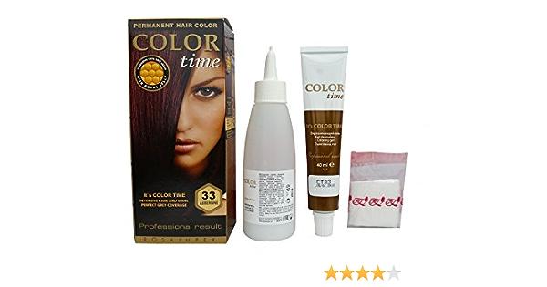 Pack Ahorro de 2 x Tintes Permanente para el Cabello de Color Berenjena 33