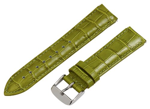 Clockwork Synergy - 18mm x 15mm - (Set of 15) Grain Leather Watch Band fits Philip stein Small by Clockwork Synergy, LLC (Image #3)