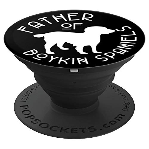 (Father of Boykin Spaniel Cute Dog Lover Gift For Dad PACD501 - PopSockets Grip and Stand for Phones and Tablets)