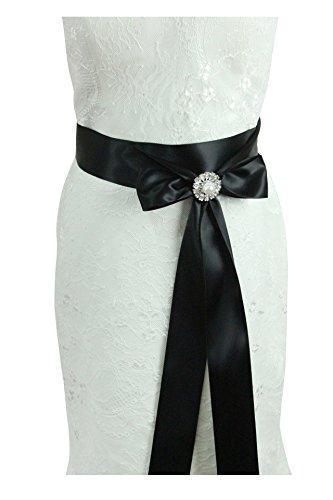 Cinturón de adorno hecho a mano de Lemandy, con cristales para vestido de novia o boda A7 Azul azul real Talla única: Amazon.es: Ropa y accesorios