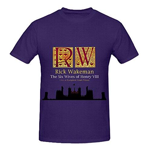 Rick Wakeman The Six Wives Of Henry Viii Live At Hampton Court Palace Men Shirt - Six Wives Of Rick Wakeman