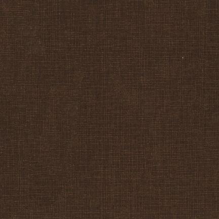 Robert Kaufman Quilters Linen Chocolate