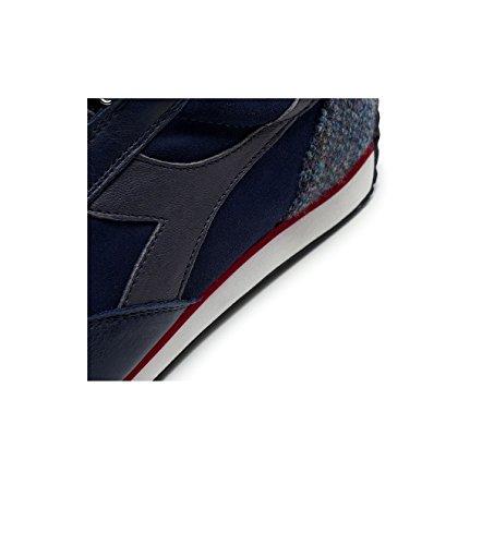 Diadora Scarpa Uomo Equipe Tweed Pack 172535 Blue Corsair 60063 Blu FW 17/18