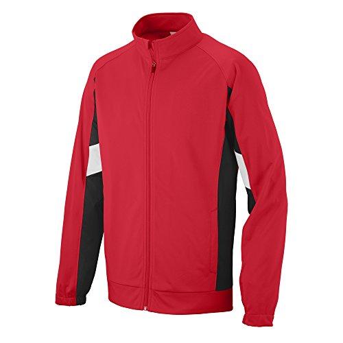 Augusta Sportswear Boys' Tour De Force Jacket M - Tricot Jacket Brushed