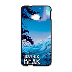 Oshs Brother Bear 2 HTC One M7 Cell Phone Case Black