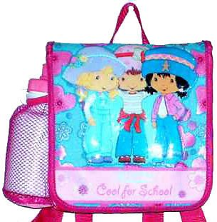 Strawberry Shortcake Lunchbox Backpack Insulated Lunch Bag