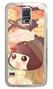 galaxy s5 case,custom samsung galaxy s5 case,TPU Material,Drop Protection,Shock Absorbent,Transparent case,cute cartoon patternAutumn has come