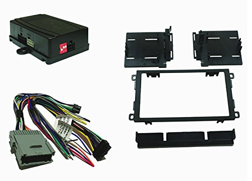 Crux DKGM-48D CRUX DKGM-48D Radio Replacement with SWC Retention & DDin Dash Kit for GM Class II Vehicles