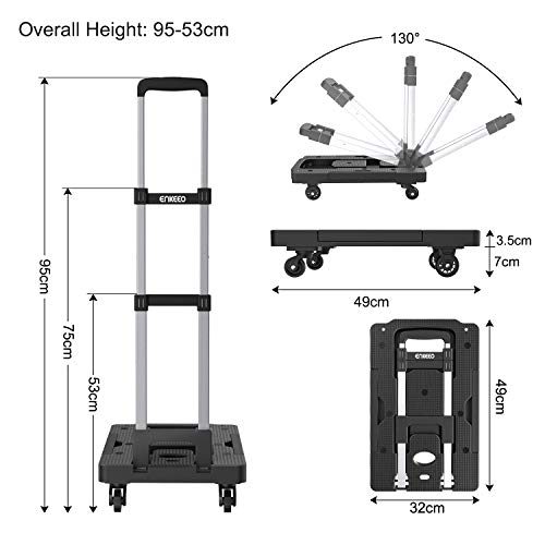 36c9eac43e2e Best Luggage Cart 360 Wheels