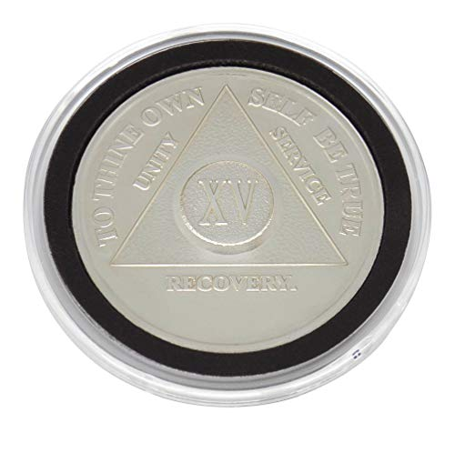 15 Year - Special AA Coins - .999 Silver AA Medallion   Recovery Shop (0.5 Silver Ounce Coin)