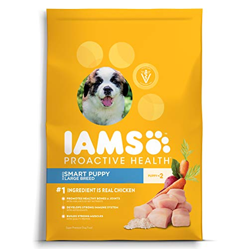 - Iams Proactive Health Smart Puppy Large Breed Dry Dog Food Chicken, 30.6 Lb. Bag