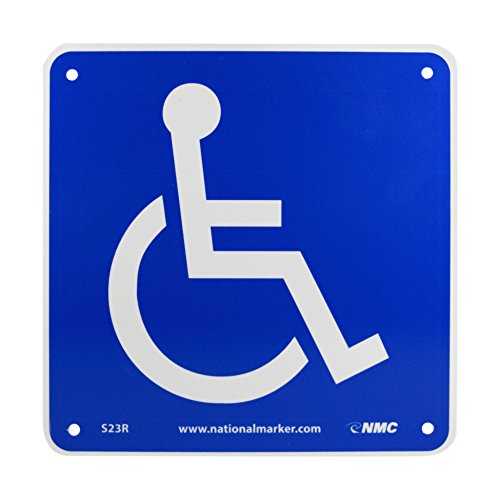 (NMC S23R Office Sign, Handicapped Graphic, 7