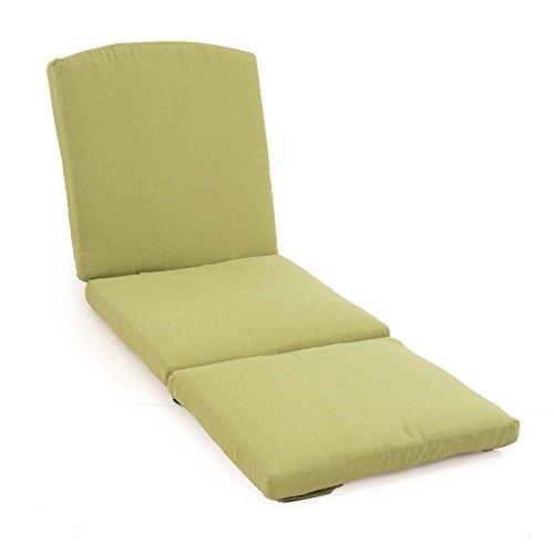 Martha Stewart Living Charlottetown Green Patio Chaise Replacement Cushion (Living Martha Furniture Replacement Stewart Patio Cushions)