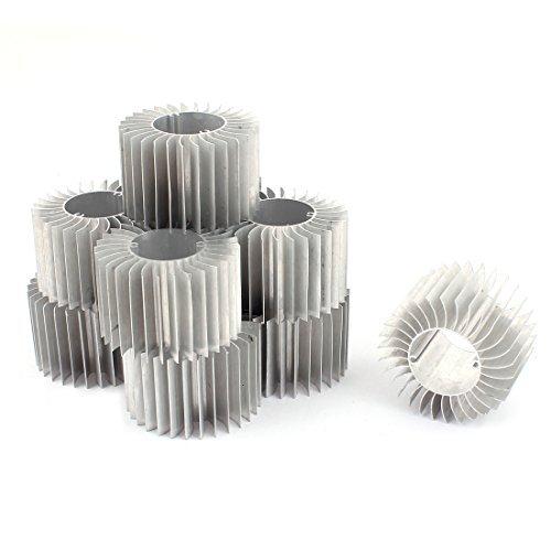 Amazon.com: DealMux LED 10pcs lâmpada de alumínio do dissipador de calor do radiador Cooling Fin 57mmx29mmx37mm: Electronics