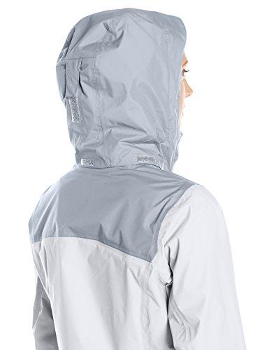 Columbia Women's Pouration Waterproof Rain Jacket, Medium, White/Cirrus Grey by Columbia (Image #8)