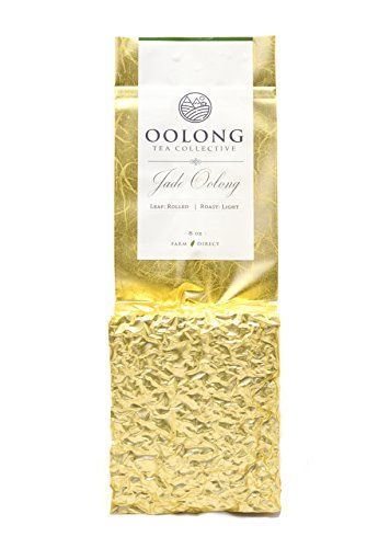 Oolong Tea by Oolong Tea Collective | Natural Loose Leaf Tea | Taiwan Jade Oolong Tea | Light Roast | 100% Farm Direct (8 Oz) (Wholesale Loose Leaf Tea)