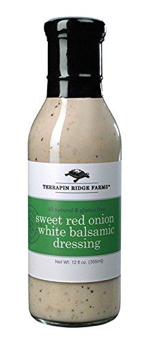 Terrapin Ridge Farms Dressing, Sweet Red Onion White Balsamic, 12 (Red Onion Vinaigrette)