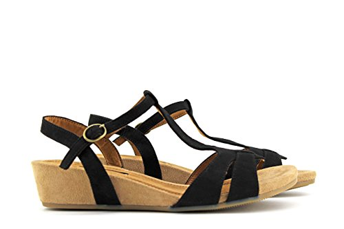 MODELISA Women's Fashion Sandals Black CmGKi