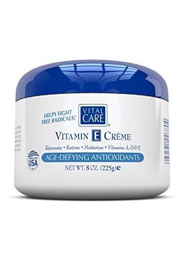- Vitamin E Creme, Vital Care Age Defying Antioxidants, 8 Oz.