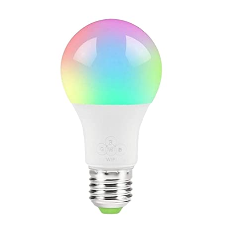 STRIR Bombilla LED inteligente WiFi ajustable y lámpara multicolor Funciona con Alexa, Echo, Google